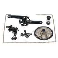 TRW2 complete 1x11 speed mountain bike groupset